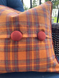 Pair of Flannel Fall Pillow Covers