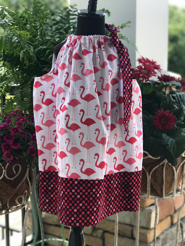 Let's Flamingle Phoebe Pillowcase Dress