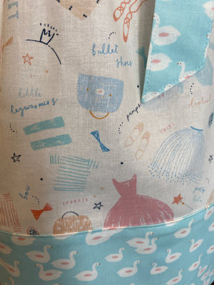 Phoebe Pillowcase in Ballerina Christmas