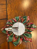 Emma's Green Plaid Hairbow