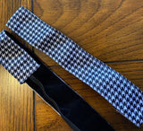Black and White Houndstooth Headband