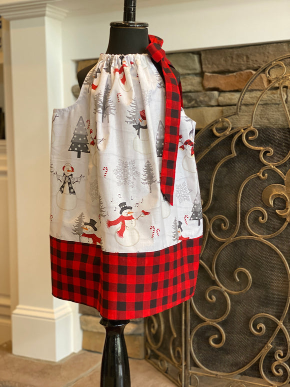 Phoebe Pillowcase in Buffalo plaid
