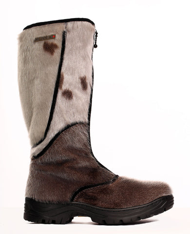 "SEAL BOOT CRAMPON 18"" with TRACTION SOLE - SHEEP WOOL LINING"