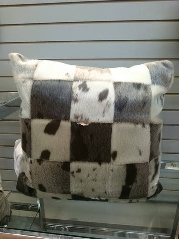 SEAL PATCHWORK PILLOW