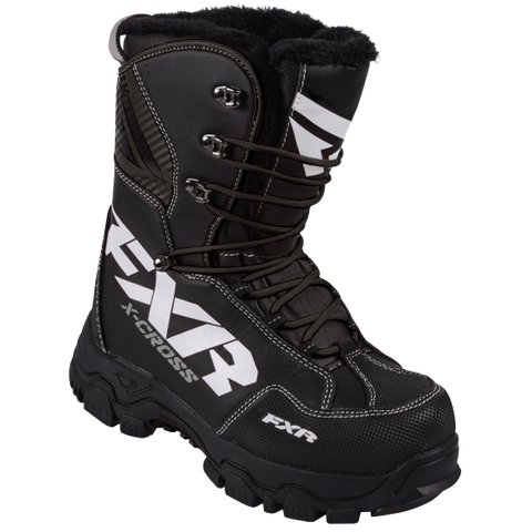 FOOTWEAR MENS FXR XCROSS BOOT BLACK