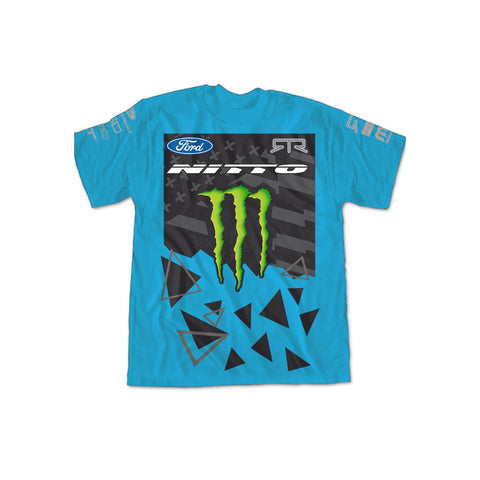2016 Vaughn Gittin Jr. Official Turquoise Team Shirt - Vaughn Gittin Jr. Official Gear Store - 1