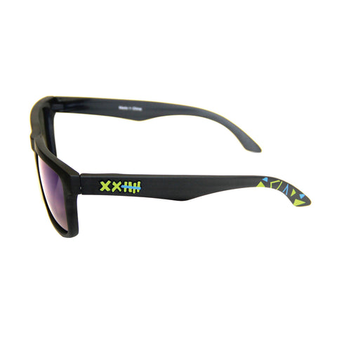 Vaughn Gittin Jr. Signature Sunglasses Black/Blue Triangles