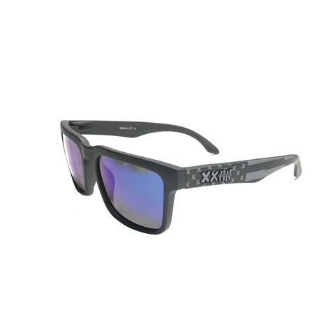 Vaughn Gittin Jr. Signature Sunglasses Black/Blue Flag