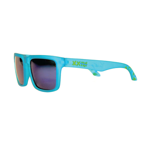 Vaughn Gittin Jr. Signature Sunglasses Blue/Blue Triangles