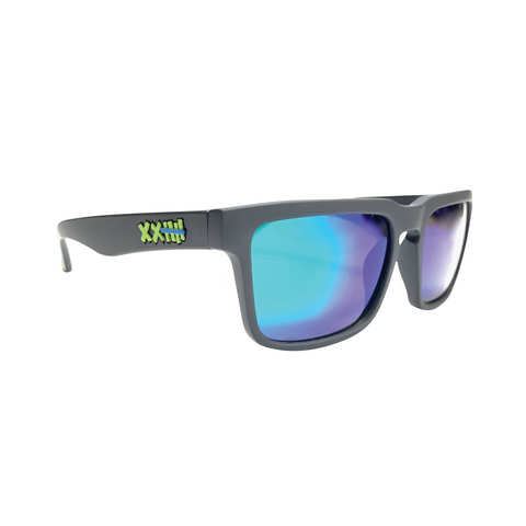 Vaughn Gittin Jr. Signature Sunglasses Black/Green Triangles