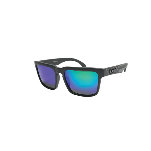 Vaughn Gittin Jr. Signature Sunglasses Black/Green Flag