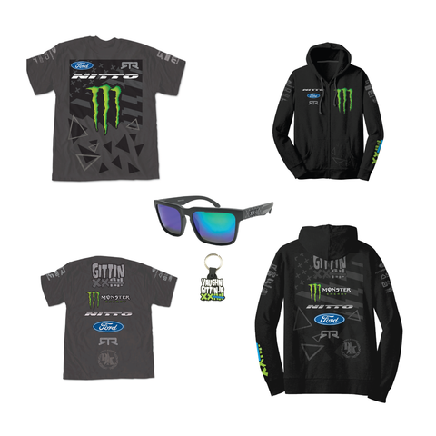 2016 Vaughn Gittin Jr Team Hoodie and Shirt Pack