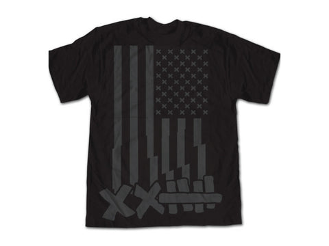 "Vaughn Gittin Jr. ""Flag"" Tee - Vaughn Gittin Jr. Official Gear Store - 1"
