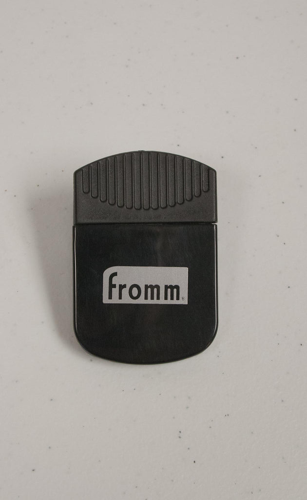 Fromm Silver Logo Bag Clip