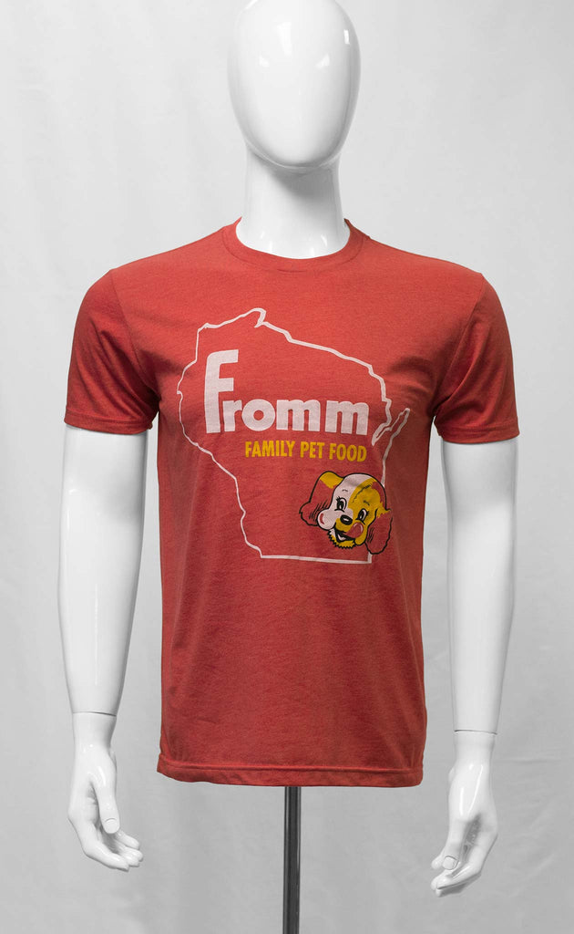 Fromm Wisconsin Outline in Red