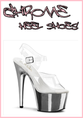 Chrome Heel Shoes