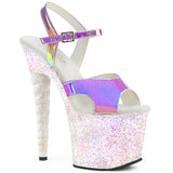 Sexy Glitter Heels Unicorn Pole Dancing Shoes
