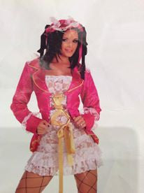 NL802 Sexy Pirate Captain Fantasy Costume - Miss Hollywood