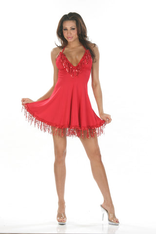 N1955 Sexy Nom De Plume Pole Dancing Mini Dress - Miss Hollywood