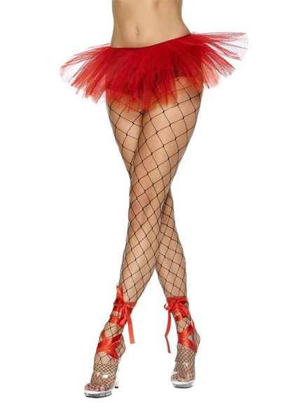 SM30761 Mesh Frilly Petticoat TuTu-Costume-Smiffys-One Size-Miss Hollywood Sexy Shoes