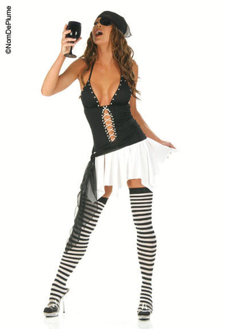 N3757 Sexy Pirate Fancy Dress Costume - Miss Hollywood