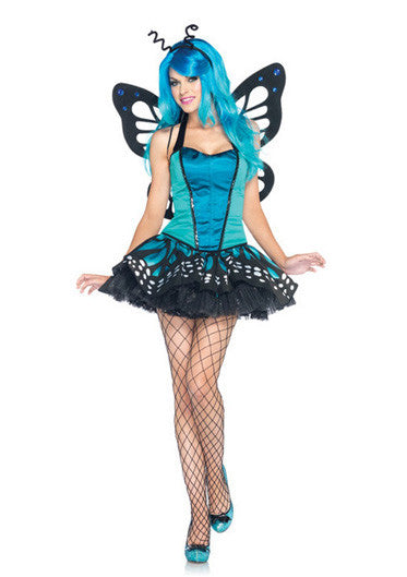 LA85001 Swallowtail Butterfly Fancy Dress Costume - Miss Hollywood - 1