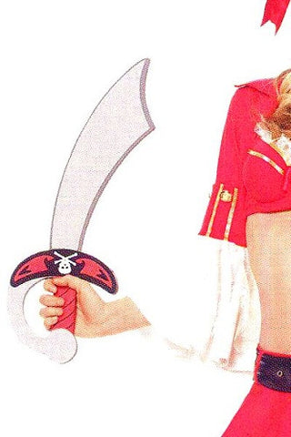 LAA1510 Pirate Foam Sword - Miss Hollywood