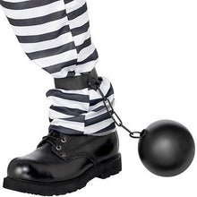 Load image into Gallery viewer, SM374 Cops and Robbers Ball and Chain-Costume-Smiffys-OS-Miss Hollywood Sexy Shoes