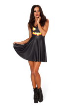 Load image into Gallery viewer, BM401 Sexy Mini Dress with Pumpkin Halloween Style - Miss Hollywood - 2