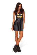 Load image into Gallery viewer, BM401 Sexy Mini Dress with Pumpkin Halloween Style - Miss Hollywood - 1