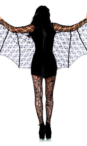 LA85241 Moonlight Bat Fancy Dress Costume - Miss Hollywood - 3
