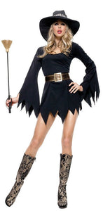 LA83244 Witchy-Poo Fancy Dress Costume-Costume-Leg Avenue-XL-Miss Hollywood Sexy Shoes