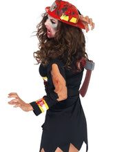 Load image into Gallery viewer, LA83973 Undead Fire Starter Fancy Dress Costume-Costume-Leg Avenue-S/M-Miss Hollywood Sexy Shoes