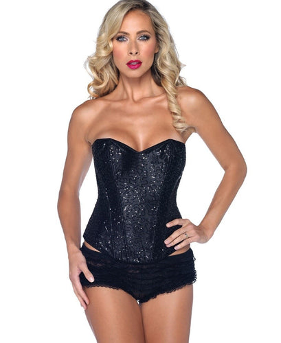 LA85024 Sexy Leg Avenue Corset Lingerie Item-Corset-Leg Avenue-Small-Black-Miss Hollywood Sexy Shoes