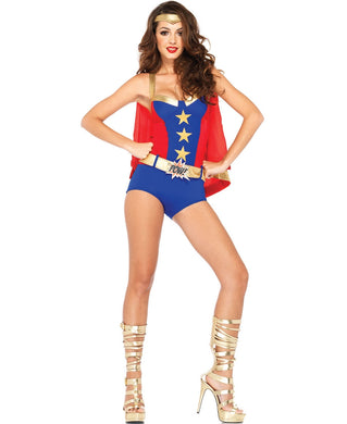 LA85224 Sexy Leg Avenue Comic Book Girl Fancy Dress Costume