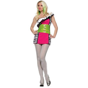 LA83406 Wicked Rock Star Fancy Dress Costume - Miss Hollywood