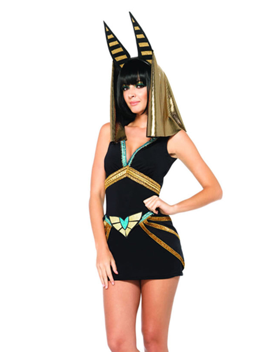 LA85207 Sexy Anubis women's Halloween costume - Miss Hollywood - 2