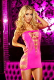 LC-20  Sexy Lapdance Backroom Mini Dress with Cutout Details - Miss Hollywood - 3