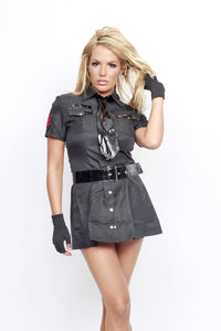 NLA35 Sexy Cop Sale Fancy Dress Costume-Costume-Miss Hollywood-S/M-Miss Hollywood Sexy Shoes