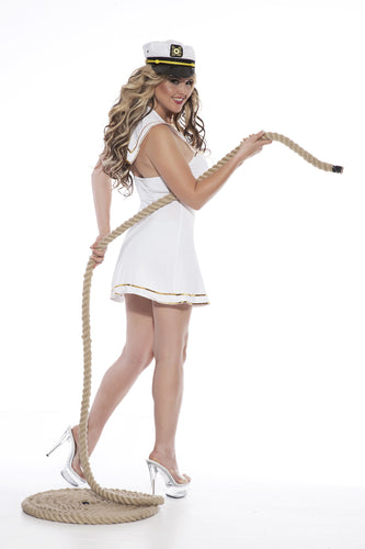 NLA42 Sexy Sailor Sale Fancy Dress Costume-Costume-Dreamgirl-S/M-Miss Hollywood Sexy Shoes