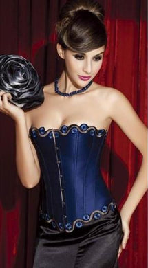 Sexy NL7369 Sexy Blue Evening Corset  Miss Hollywood
