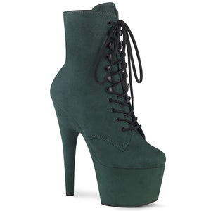 "ADORE-1020FS 7"" Heel Emerald Green Exotic Dancing Ankle Boot"