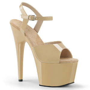 ADORE-709 Pleaser Sexy Shoes 7 Inch Stiletto Heel Ankle Strap Platforms Sandals - Sexy Shoes - 5