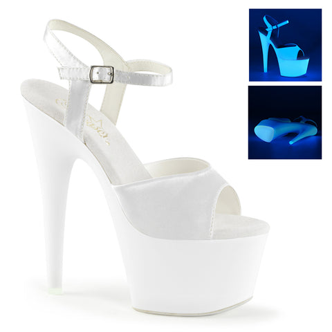 ADORE-709UV Sexy UV Neon Pole Dancing Platform Shoes (New Style) - Miss Hollywood
