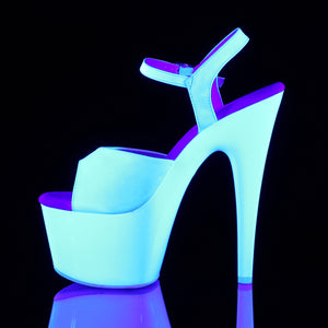 Sexy ADORE-709UV Sexy UV Neon Pole Dancing Platform Shoes (New Style)  Pleaser - Miss Hollywood - Sexy Shoes