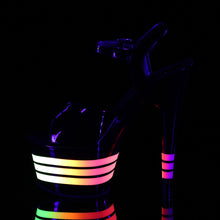 Load image into Gallery viewer, Sexy ADORE-709UVLN Sexy UV Neon Pole Dancing Lined Platform High Heel Shoes  Pleaser - Miss Hollywood - Sexy Shoes