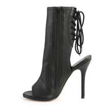 Load image into Gallery viewer, AMUSE-1018 Pleaser Sexy 5 Inch Heel Black Fetish Footwear