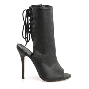 AMUSE-1018 Pleaser Sexy 5 Inch Heel Black Fetish Footwear