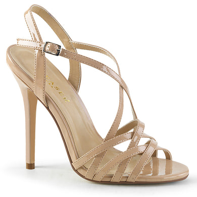 AMUSE-13 Pleaser Sexy Shoes 5 Inch Heel, Criss Cross Ankle Strap Sandals