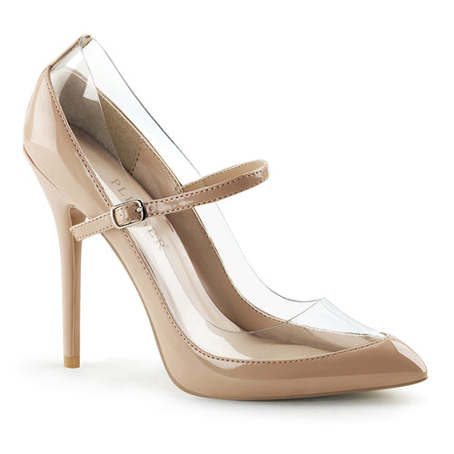AMUSE-21 Pleaser Sexy 5 Inch Heel Nude Fetish Footwear